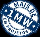 Mais de 1MW em Projetos da Solar Energy do Brasil